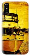 Yellow On The Water IPhone Case