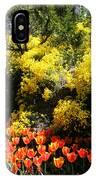 Yellow Orange - Springtime IPhone Case