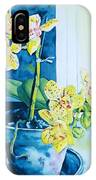 Yellow Orchid IPhone X Case