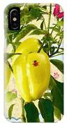 Yellow Pepper IPhone Case