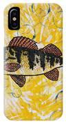 Yellow Perch IPhone Case