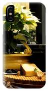 Yellow Poinsettia And Cheeses IPhone Case