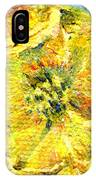 Yellow Poppy IPhone Case