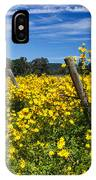 Yellow Profusion IPhone Case