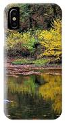Yellow Reflections IPhone Case