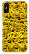 Yellow Rope Stack IPhone Case