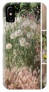 Yellow Salsify Collage IPhone Case