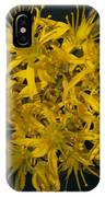 Yellow Sedum IPhone Case