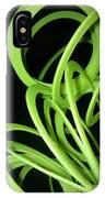 Yellow Slinky 2 IPhone Case