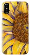 Yellow Sunflower IPhone X Case
