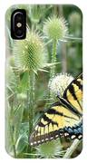 Yellow Swallowtail Butterfly IPhone Case