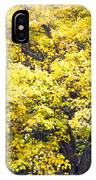 Yellow Tree IPhone Case