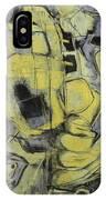 Yellow Trip IPhone Case