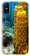 Yellow Tube Sponge IPhone Case