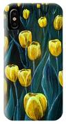 Yellow Tulip Field IPhone Case