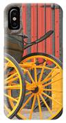Yellow Wheeled Carriage In Seville IPhone Case