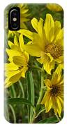 Yellow Wild Flowers IPhone Case