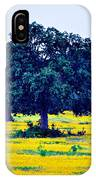 Yellow Wildflowers After Sunrise IPhone Case