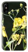 Yellow Wildflowers IPhone Case