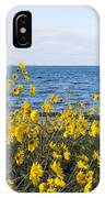 Yellow Wind IPhone Case