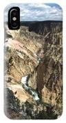 Yellowstone Canyon IPhone Case