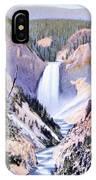 Yellowstone Canyon Yellowstone Np IPhone Case