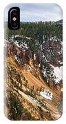 Yellowstone Falls Panorama IPhone Case
