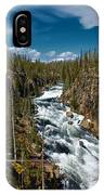 Yellowstone National Park Lewis River IPhone Case