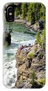 Yellowstone - Upper Falls IPhone Case