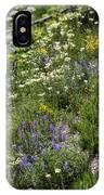 Yellowstone Wildflowers IPhone Case