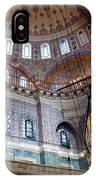 Yeni Valide  Camii Mosque Istanbul Turkey IPhone Case