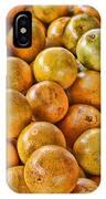 Yep Oranges IPhone Case