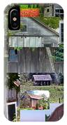 Yesterday Barns Collage IPhone Case
