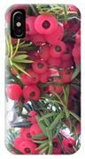 Yewberries IPhone Case