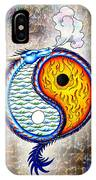 Yin And Yang Textured IPhone Case