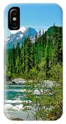 Yoho River In Yoho Np-bc IPhone Case