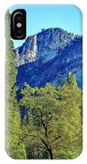 Yosemite Ahwahnee Hotel Courtyard IPhone Case