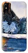 Yosemite In Winter I IPhone Case