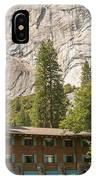 Yosemite National Park Lodging IPhone Case