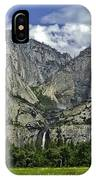 Yosemite Upper And Lower Falls IPhone Case
