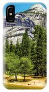 Yosemite Valley Along Yosemite River Beach IPhone Case