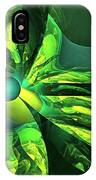 You Are Here --  Events Conspire -- Green IPhone Case