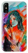 Young Girl 52622 IPhone Case