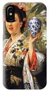 Young Japanese Lady IPhone Case