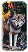 Young Timber Wolf IPhone Case