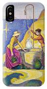 Young Women Of Provence At The Well-1892 IPhone Case