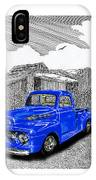 Your 1952 F 100 Pick Up In N M  IPhone Case