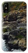 Yuba River Rocks IPhone Case