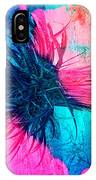 Yucca Abstract Pink Blue Green IPhone Case