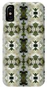 Yucca White Pattern IPhone Case